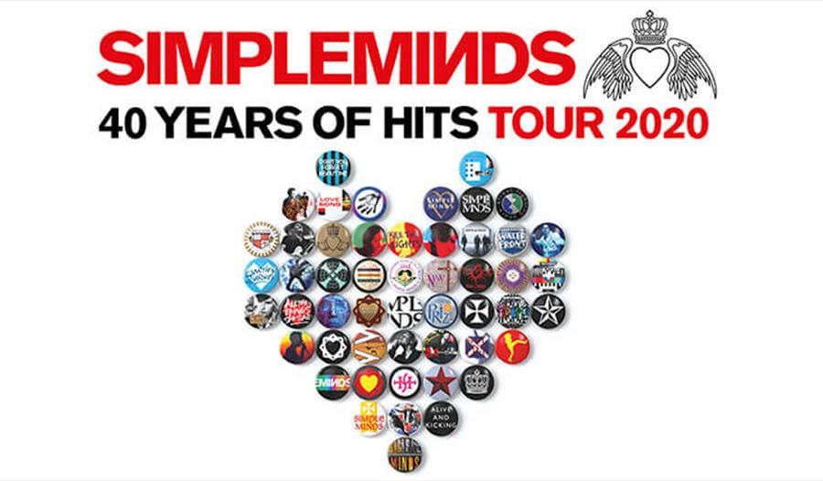*RESCHEDULED* Simple Minds: 40 Years of Hits Tour