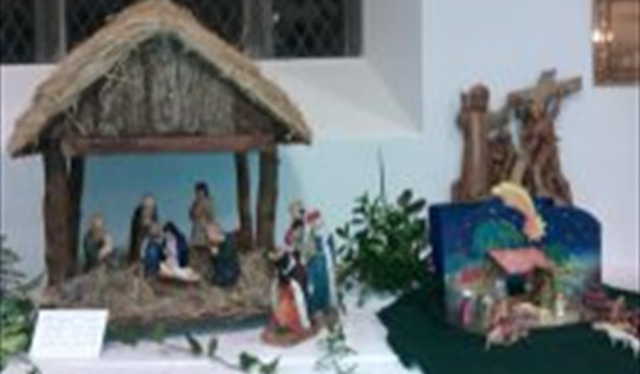 Crib exhibition, St Petroc's Church, Padstow, Cornwall