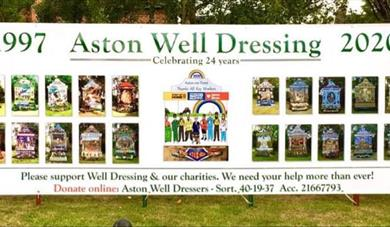 Aston on Trent Well Dressing
