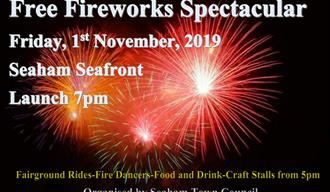Fireworks Spectacular at Seaham Seafront