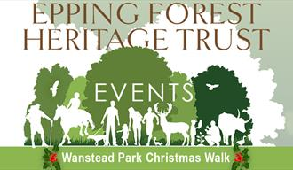 Suitable for all the family, an Epping Forest Christmas Walk starting from Wanstead Park.