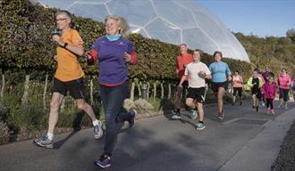 Weekly parkrun at the Eden Project